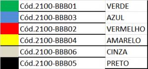 TABELA 2100-BBB05